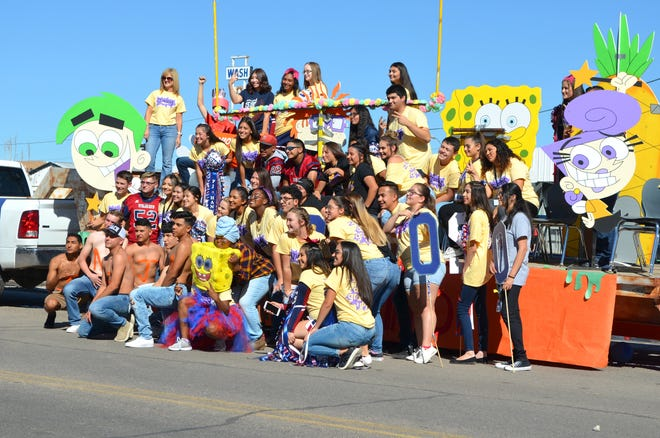 Photo from the 2018 Deming High School Wildcat Homecoming Parade.