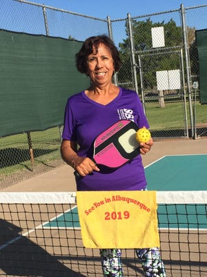 Virginia Barbier was named Pickleball Ambassador for Las Cruces by the USAPA.