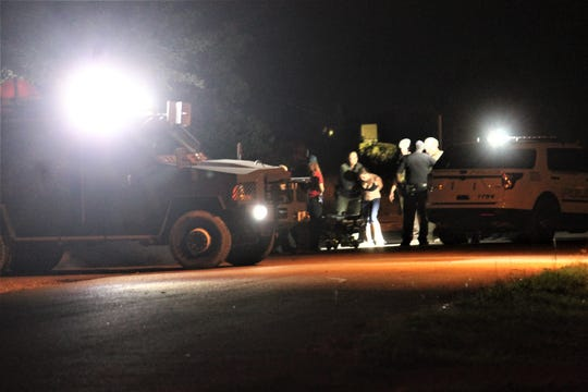The identity of the man and woman taken into custody and the reason for the standoff are not being released because an investigation is still pending, said Alamogordo Police Chief Brian Peete.