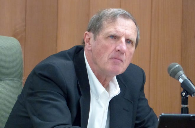 Lincoln County Commissioner Tom Stewart offered the motion to join the suit against the New mexico Taxation and Revenue Department for lost gross receipts taxes.