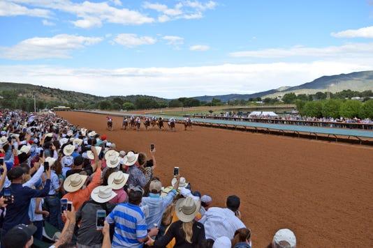 Grandstand Ruidoso Downs Race Track