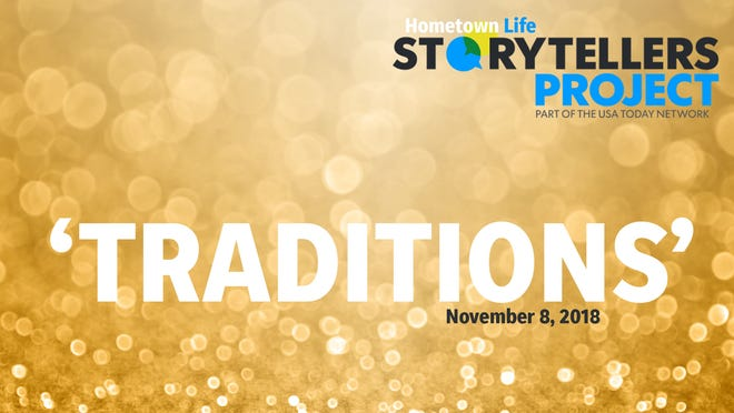 "Hometown Life Storytellers Project presents ""Traditions"" Nov. 8 in Northville."