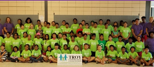 The Troy Community Coalition is committed to the well being of young people such as this group of campers.