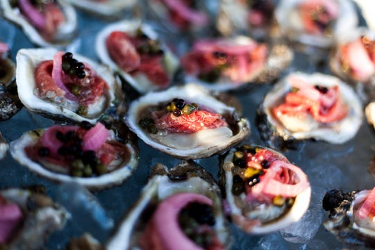 Peat & Pearls' Grand Tasting Event of 2017 takes place in downtown Pensacola.