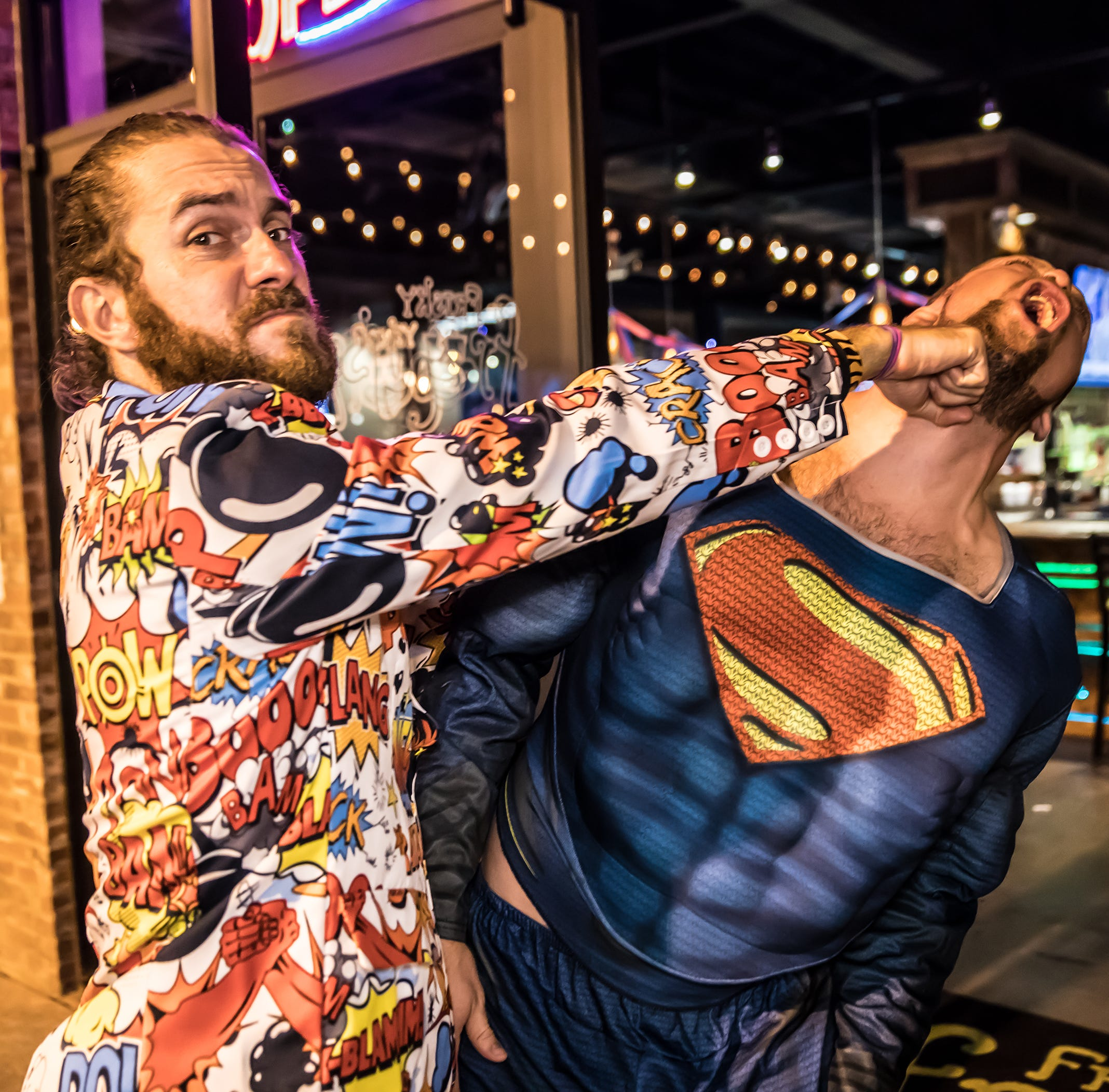 Superhero and Villain Bar Crawl fuses good, evil for ultimate good time in downtown Pensacola