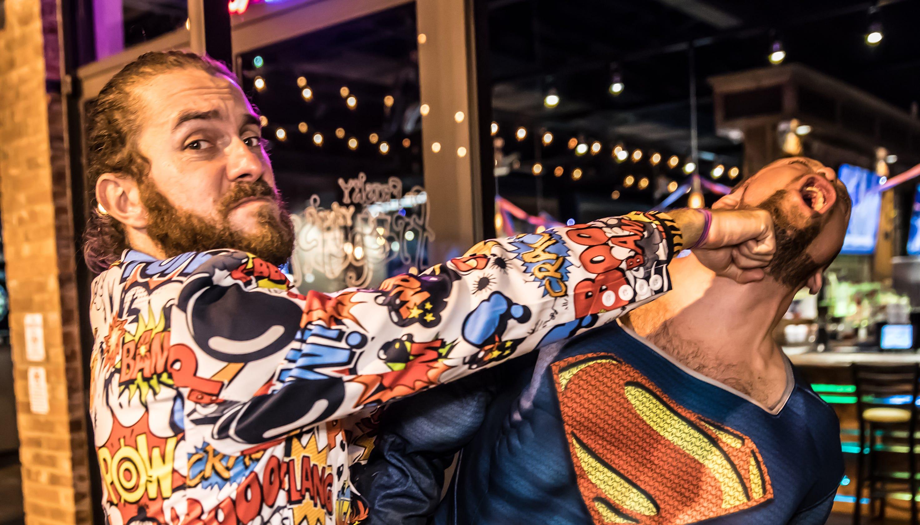 Superhero And Villain Bar Crawl Fuses Good Evil For