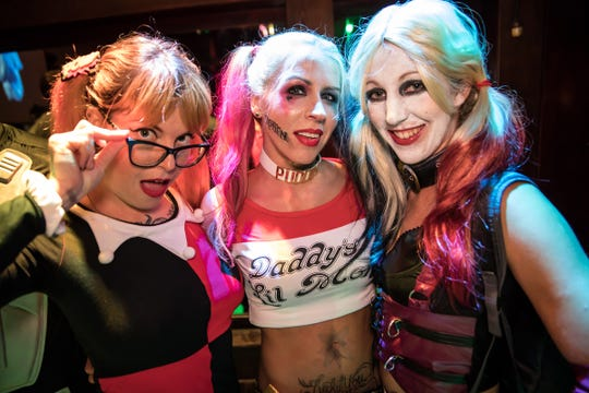 Jessica Pyrdum, owner of Tsunami Promotions and mastermind behind the bar crawl, notes that dressing up is not required, but it is of course recommended for the best experience.