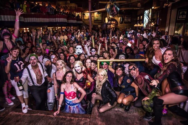 Superheroes and villains — together in peace — will enjoy drink specials and freebies, plus a friendly costume contest at Phineas Phogg's in Seville Quarter near the nightcap of the Superhero and Villain Bar Crawl.