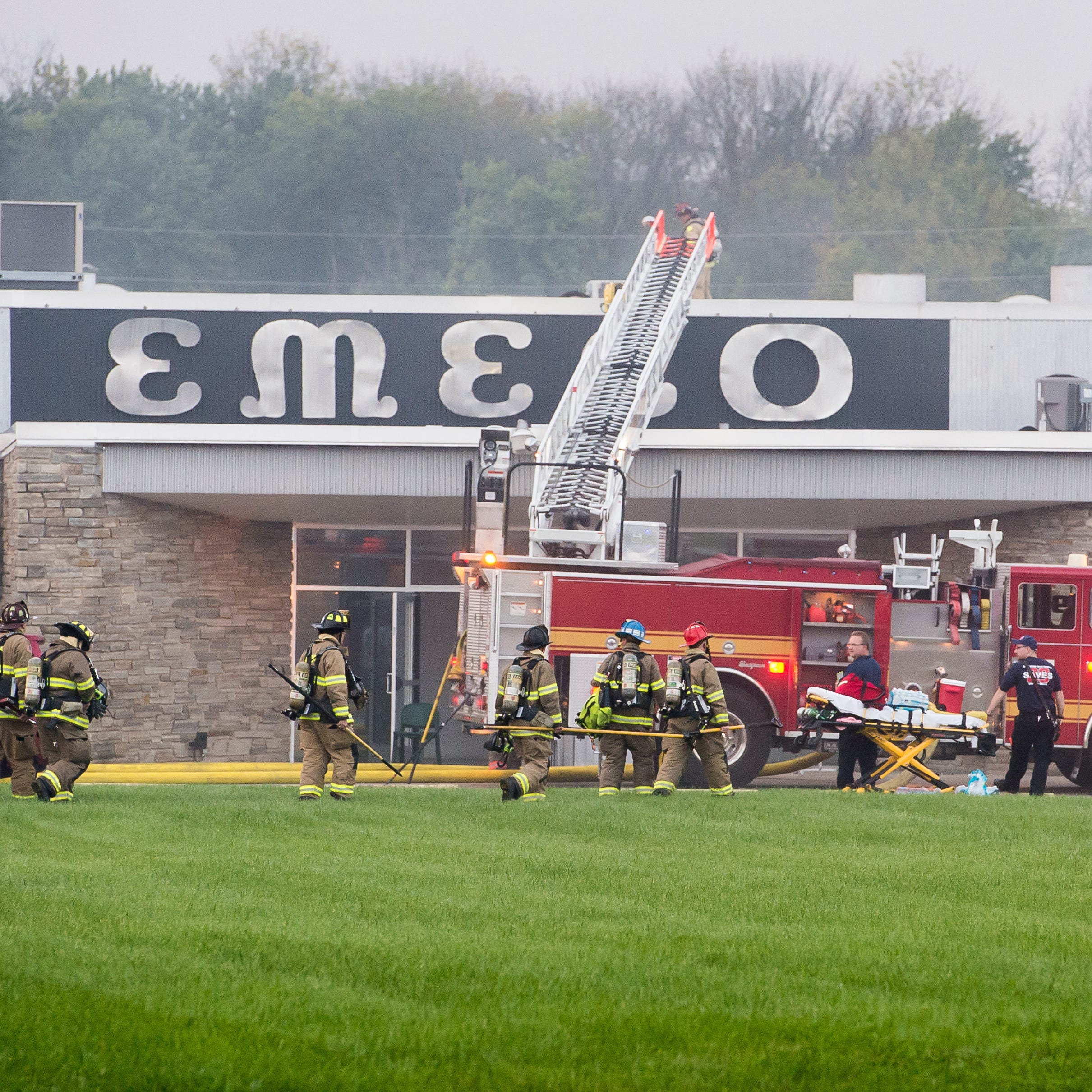Fire reported at manufacturing plant in Conewago Township