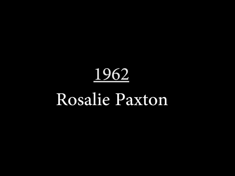 Rosalie Paxton (1962)