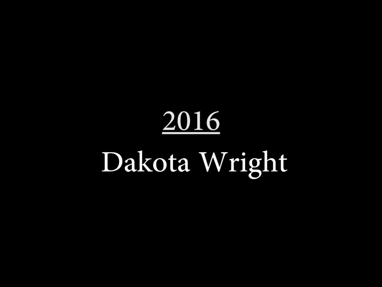 Dakota Wright (2016)