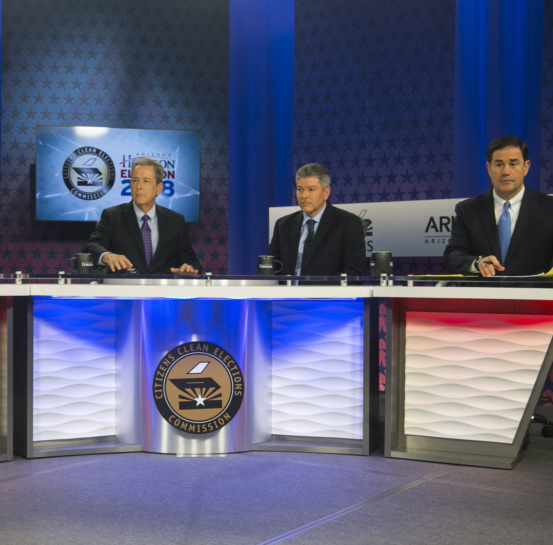 The Arizona gubernatorial debate: Where did candidates Ducey and Garcia stretch the truth?