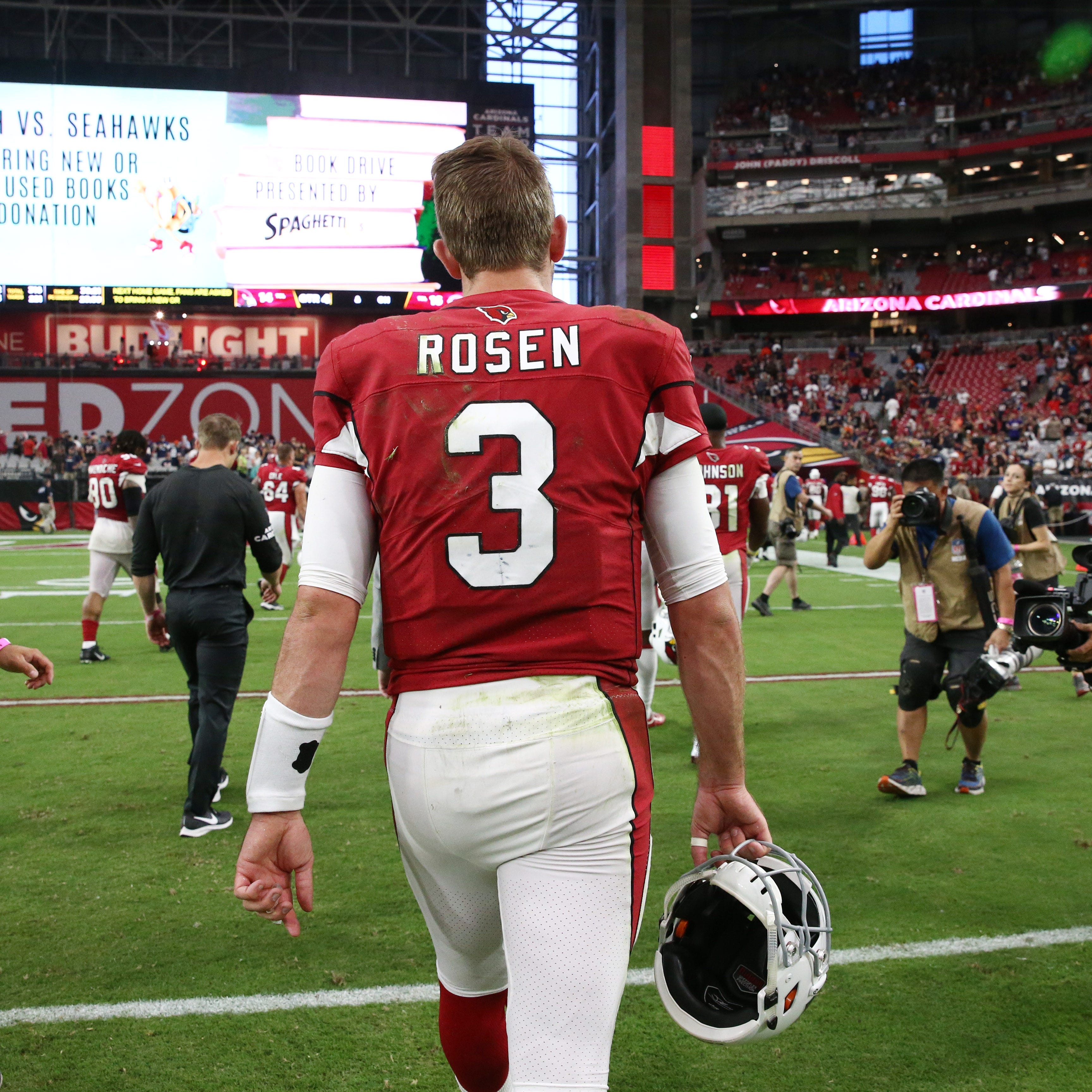 Is now the right time for quarterback Josh Rosen to start for the Cardinals?