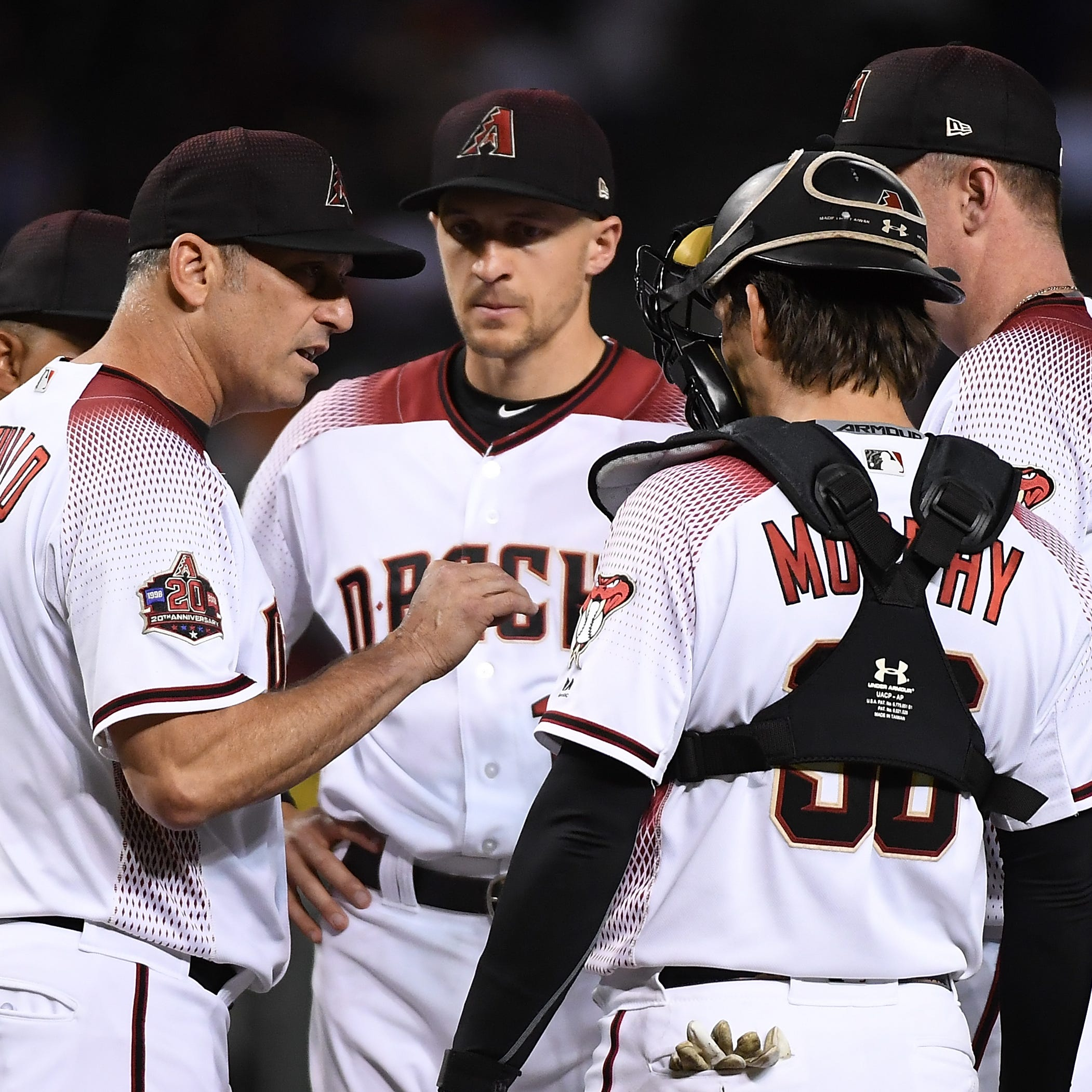 Diamondbacks slide closer to .500 record as Dodgers take opener