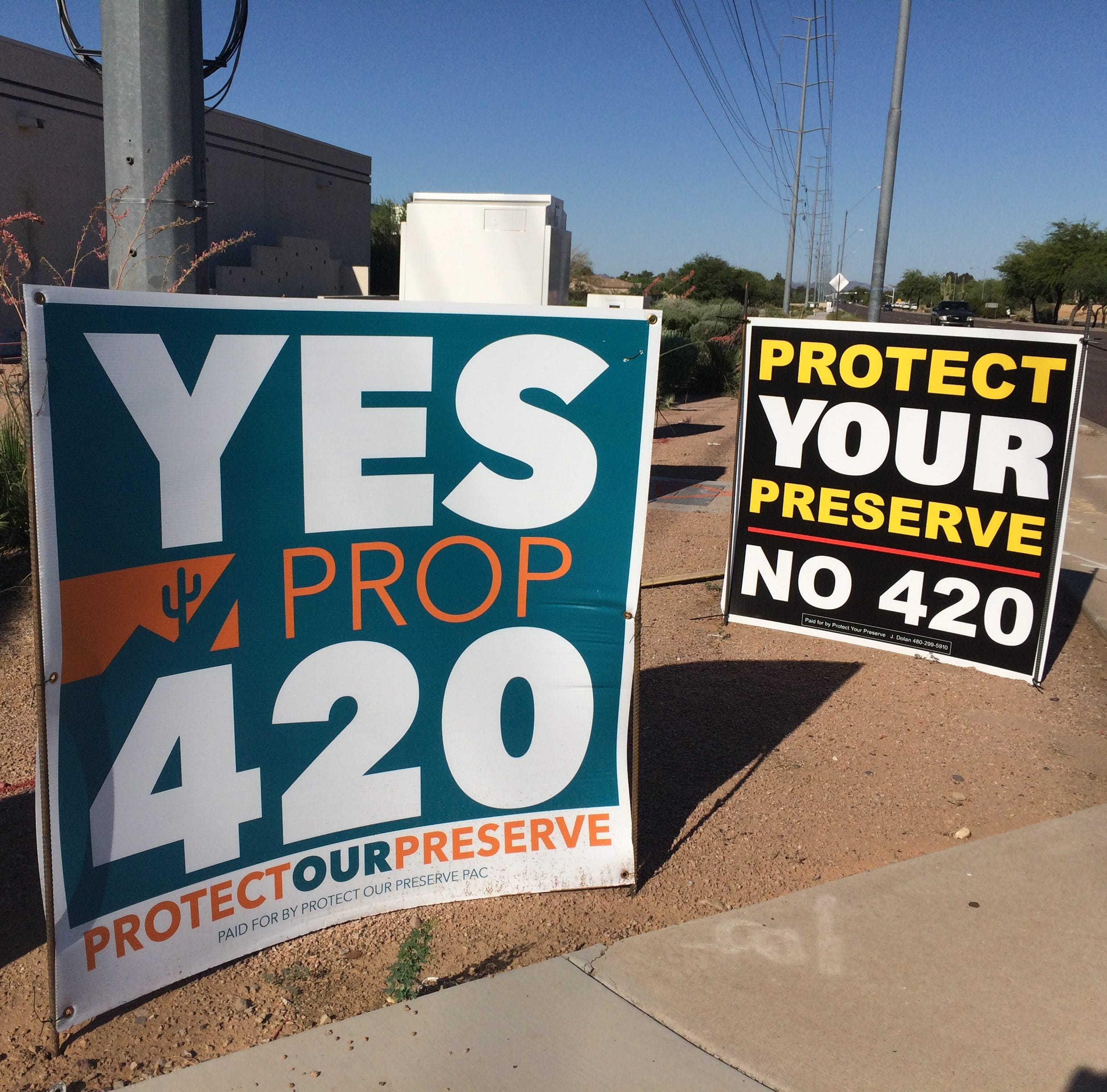 Prop. 420 backers accused of waging dark money campaign