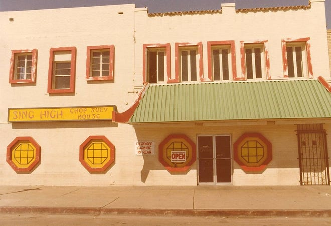 The original Sing High Chop Suey House opened in 1928 in the heart of Phoenix's Chinatown. The restaurant moved to a second location in the 1950s.