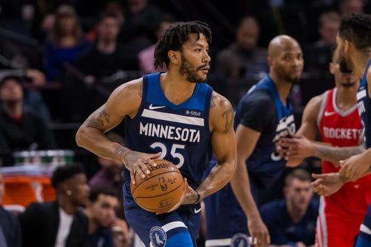Nba Houston Rockets At Minnesota Timberwolves