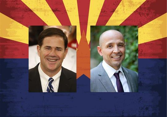 García enfrenta al gobernador republicano Doug Ducey en las elecciones para gobernador de Arizona