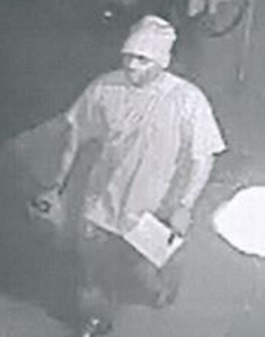 York City Police are looking for two people who they say are connected to an arson in York City earlier this month.