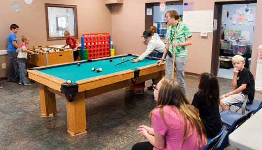 Pool and Foosball are some of the activities available in Yerington.