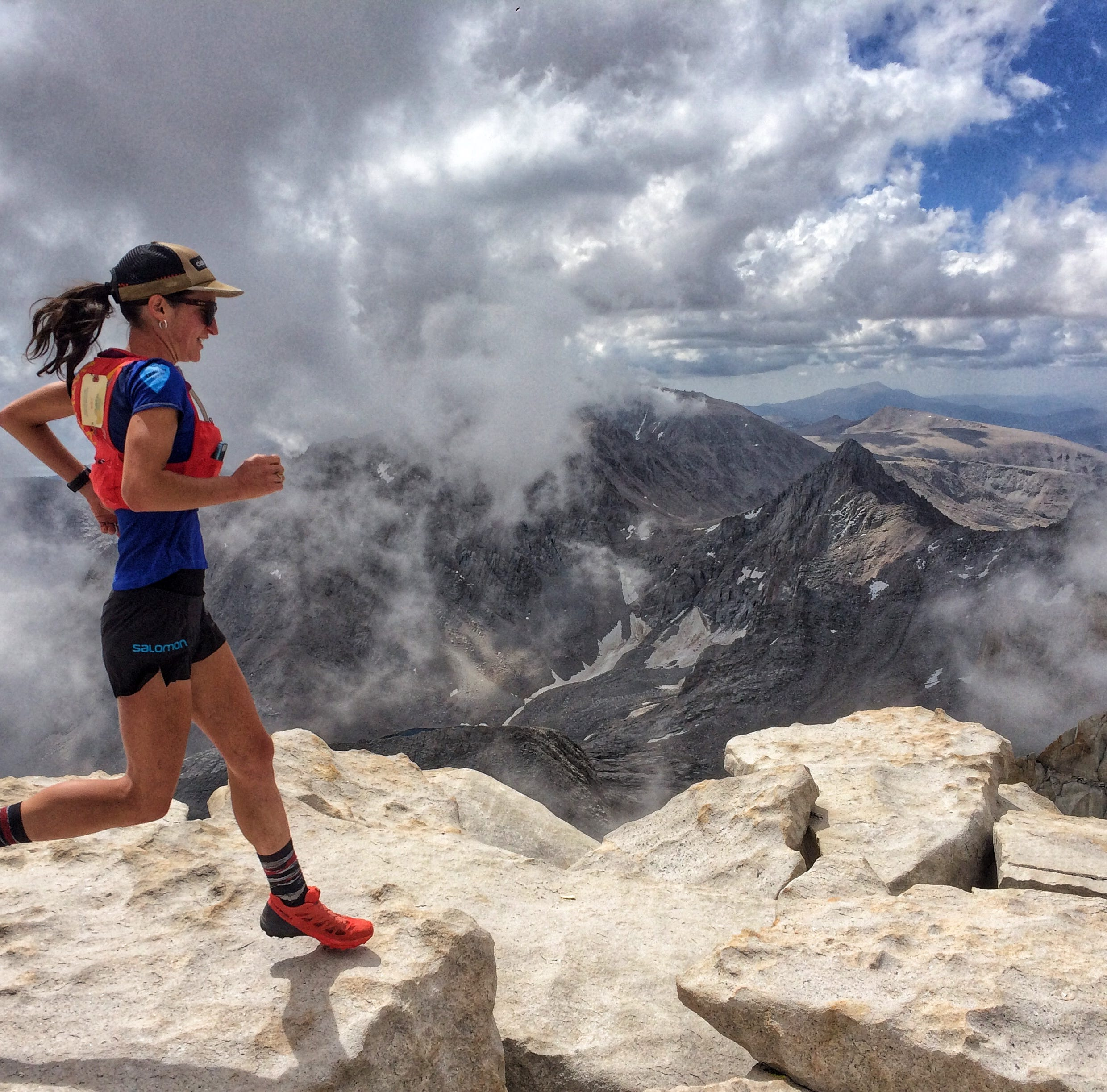Patricia Franco crushed Mt. Whitney Mountaineer's Route faster than any woman before her