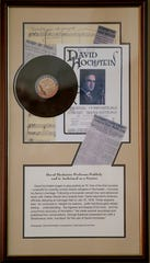 David Hochstein memorabilia at the Hochstein School of Music.