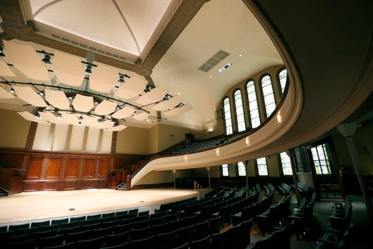 Auditorium at the Hochstein School of Music.