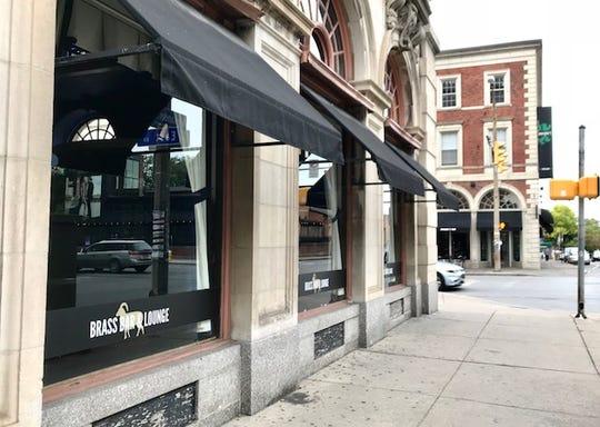 Brass Bar & Lounge on Alexander Street and East Avenue.