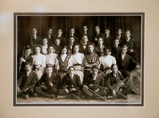 The East High School Orchestra with David Hochstein at the Hochstein School of Music.
