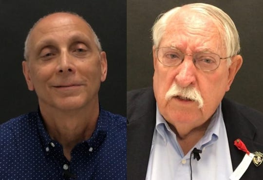 Joe Chimenti and David Kehoe are running for District 1 Shasta County supervsor