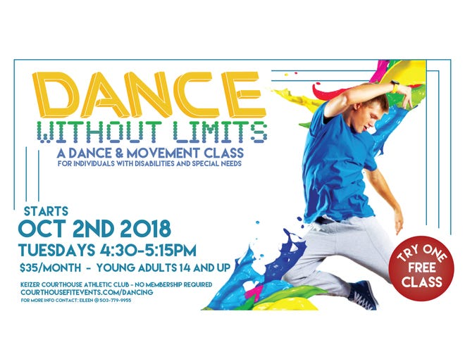 Dance Without Limits class at Keizer Courthouse Athletic Club.