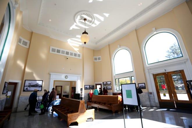 The Salem Railroad Station celebrated its centennial on Tuesday, Sept. 25, 2018. The station underwent a nearly $1 million overhaul that was completed in 2000.
