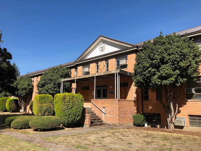 Salem Housing Authority agreed to purchase Yaquina Hall on the old Oregon State Hospital North Campus in 2016 and is converting the property into 52 affordable housing units.