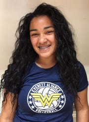 Everett Alvarez junior Aaliyah Foster played a critical role in the Eagles' recent run of wins to open Mission division play and won this week's Girls' Athlete of the Week award.