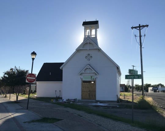 Construction is underway on the Ruffini Church in Old Town San Angelo on Monday, Sept. 24, 2018.