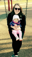 Nicole Adams and her daughter Madi.