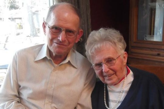 Lois and Donald Neumann in April 2015.