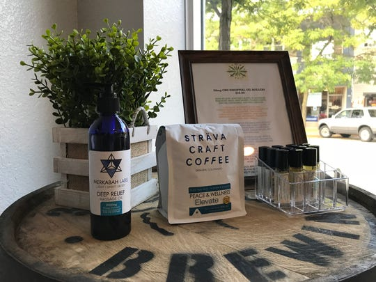 Green Rx sells CBD-infused products like waters, coffee, bath products, oils and dog treats.