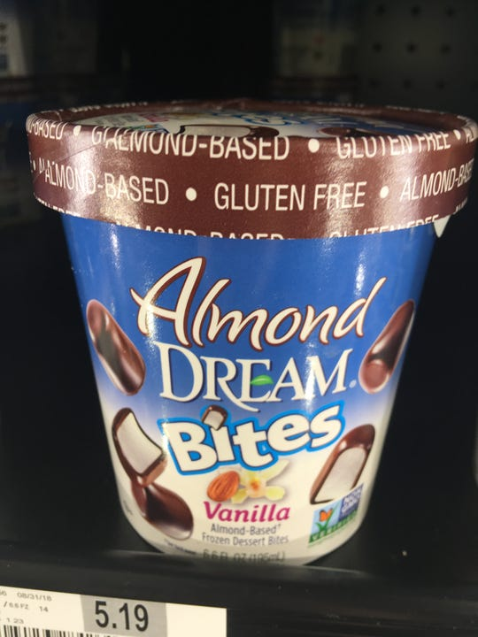 Looking for a dairy free treat that tastes like real ice cream? These Almond Dream bites are incredible and taste like the real thing.