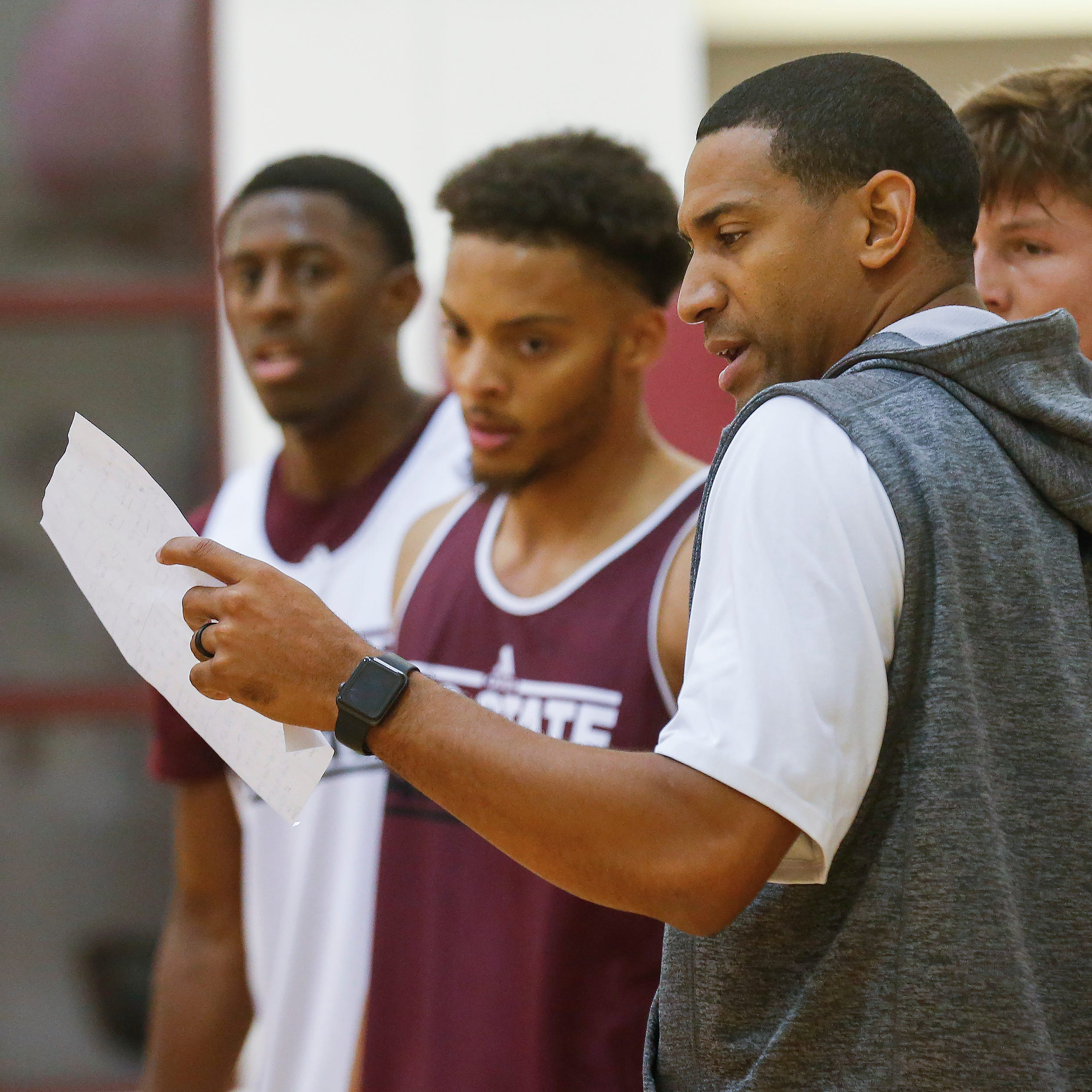 New coach, new faces, new energy: MSU's Dana Ford leads team through first fall practice
