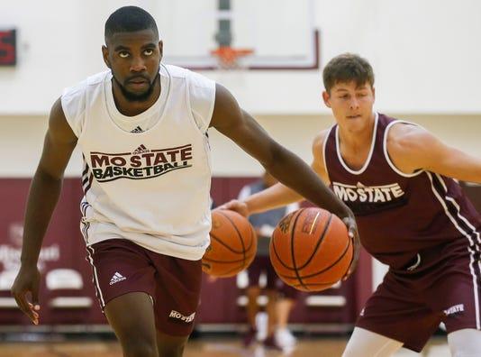 MSU basketball practice 2