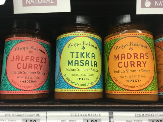 Ruby's has an excellent selection of Indian simmer sauces and products. I love this brand of Tikka Masala.