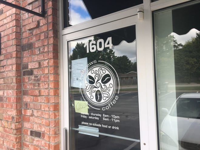 Hebrews Coffee at 1604 E. Republic Road was closed Monday, Sept. 24, 2018, following a lawsuit over back rent.
