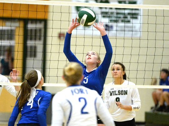 Fort Defiance's Maddie Painter had 552 assists, 461 digs, and 100 kills this season.