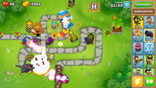 """The premise of """"Bloons"""" is deceptively simple."""