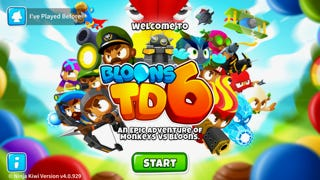 """""""Bloons: TD6"""" pits monkeys against balloons."""