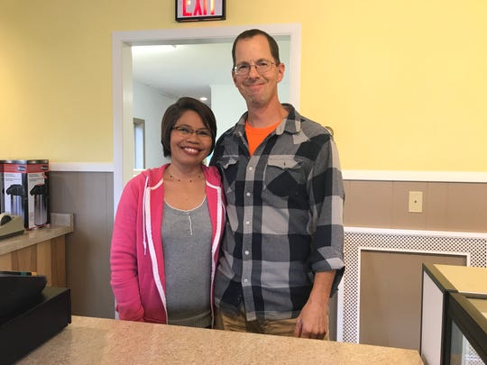 Aimeelou and Steven Gremler, owners of Gremler's Bakery