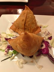 Meat samosas are available at Taj Indian Restaurant and Bar in Port St. Lucie.