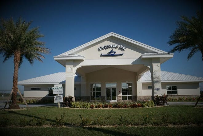 Small Commercial Construction:Corporate Air Terminal, 3450-B Airport Drive West, Vero Beach