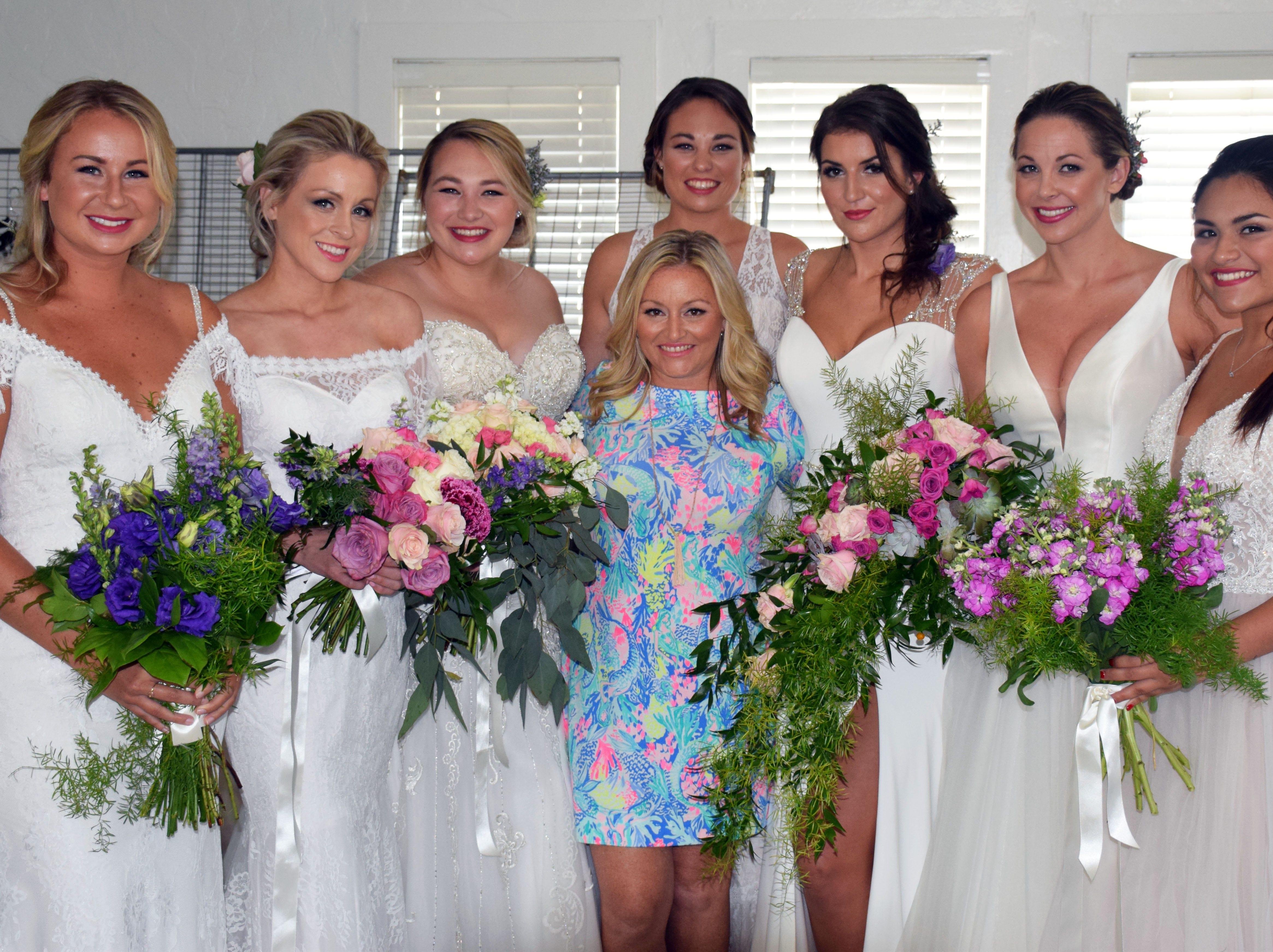 Devon Landman, Lisa Du Camp, Lindley Wilson, Nicki Maslin, Layla Wilson, Jessica Augustine, Kelly Clemenzi and Selina Presley